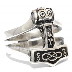Thoran - Thors Hammer Ring (ring in silver)