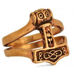Thoran - Thorshammer Ring (Ring in Bronze)