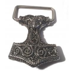 Thors Hammer Buckle (buckle in silver)