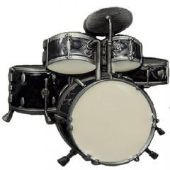 Drummer Belt Buckle