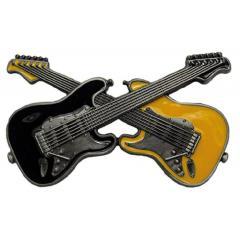 E-Guitar Belt Buckle