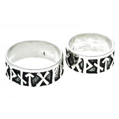 FUTHARK Rune Ring (ring in silver)