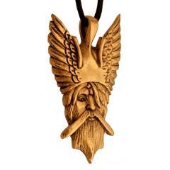 Odin - Viking pendant (Pendant in Bronze)