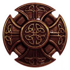 Kreuz der Kelten (Zierniete in Altbronze)